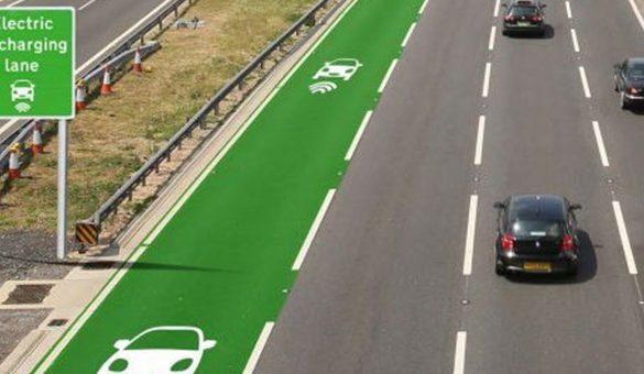 Reino Unido testa ruas que recarregam seu carro elétrico enquanto você dirige