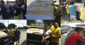 Adesivaço candidato a Vereador Manaus Marcus Pessoa 40000
