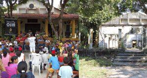Local onde funcionava a Fundação Villa Lobos em Manaus