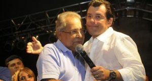 Amazonino Mendes e Eduardo Braga / Foto : ACrítica