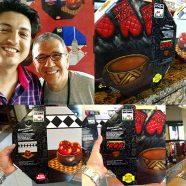 Caixa de Embalagem de Pizza com Obras de Arte
