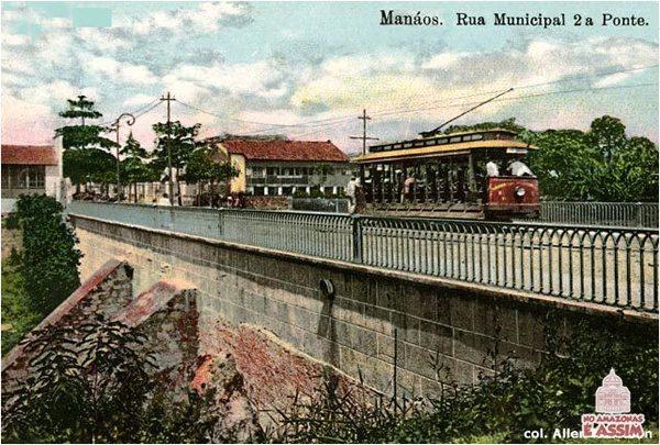 The Manos Tramways - Os Bondes de Manaus