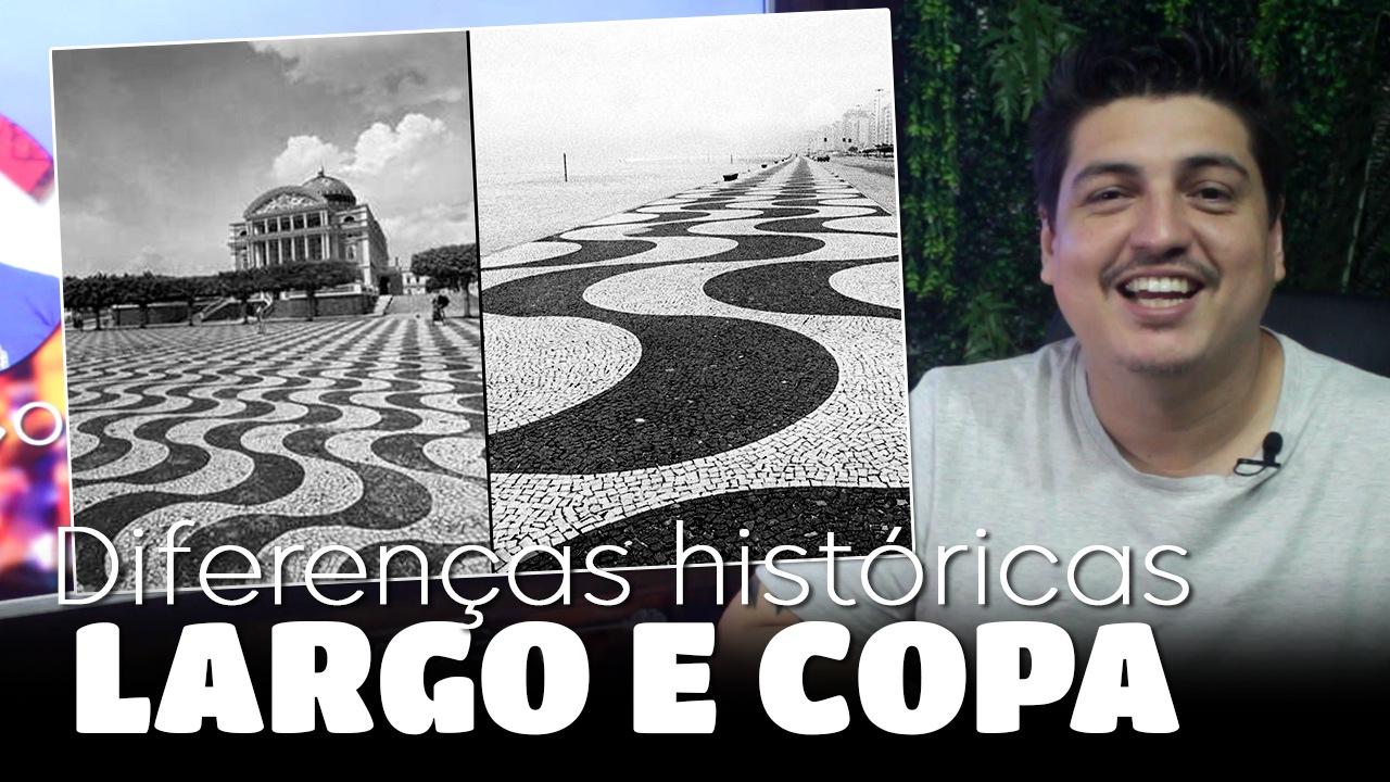 Diferenças Históricas entre o Largo São Sebastião e o Calçadão de Copacabana