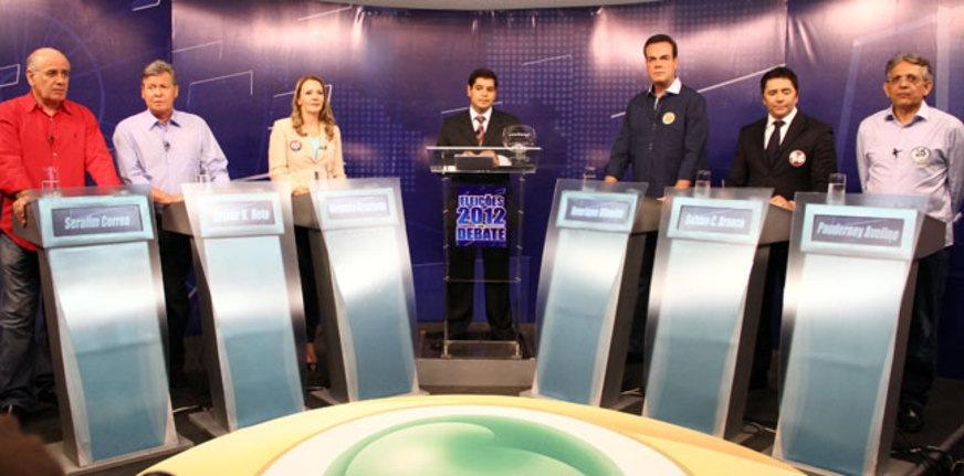 Debate TV Band Manaus / Foto : Divulgação