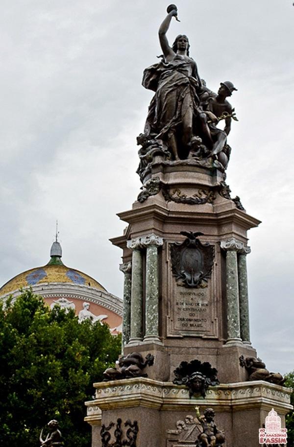 Monumento de Abertura dos Portos / Foto : José Hilton Pereira da Silva