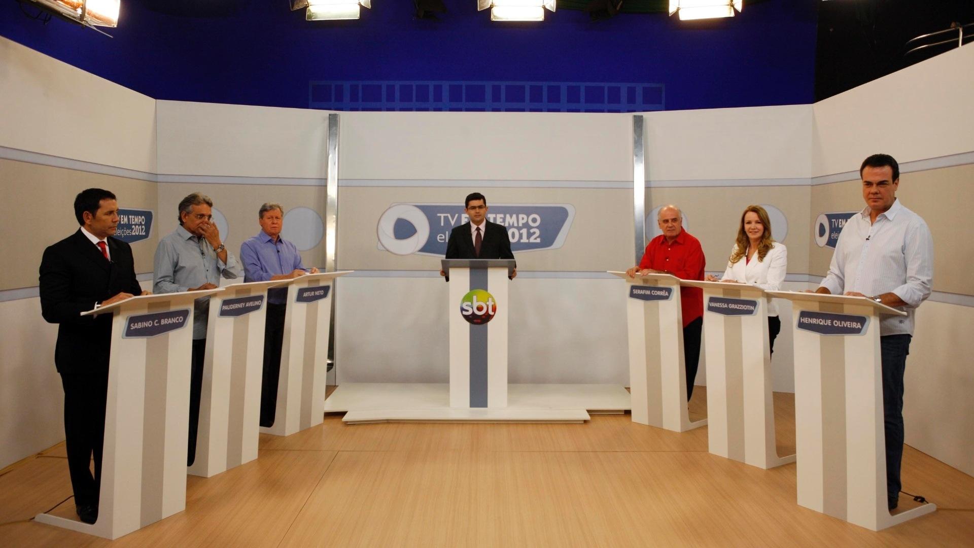 Debate Tv Em Tempo