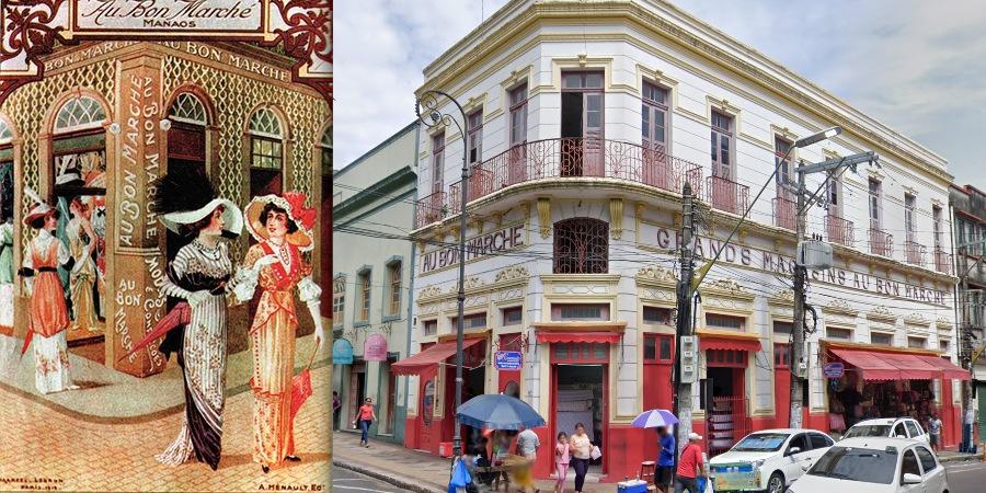 Publicidade de Manaus na época do Fausto entre 1890 - 1920