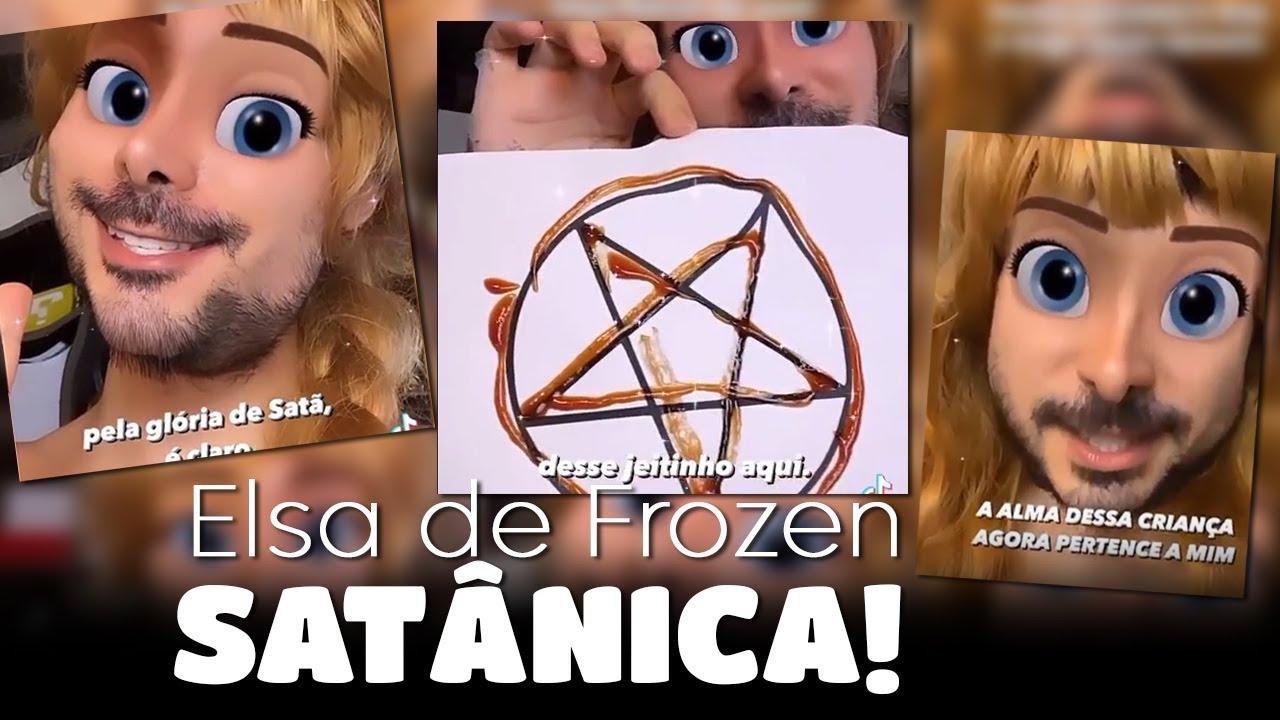 Conheça a polêmica envolvendo a Elsa de Frozen versão Satânica!