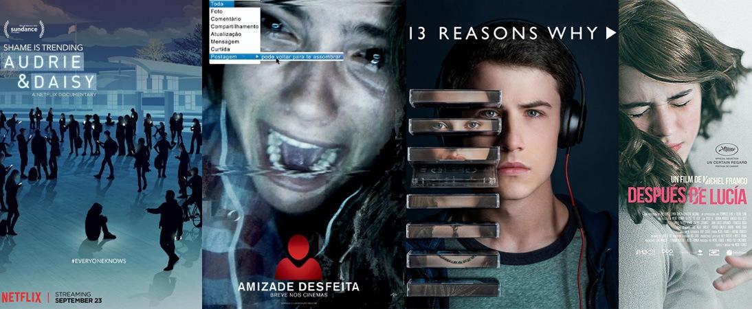 9 Filmes e Séries que retratam o cyberbullying