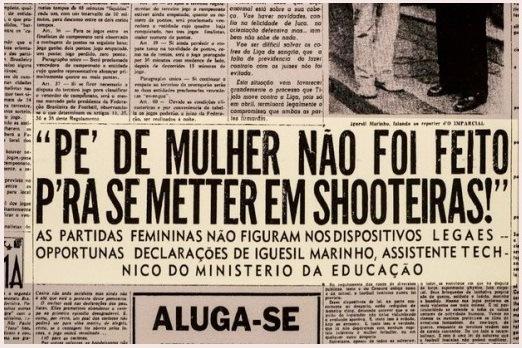 Sim, essa era a manchete de um jornal em 1941 (Jornal O Imparcial (1941) – Reprodução).