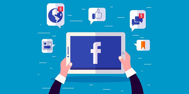 Como faço para participar de um grupo do Facebook usando o meu perfil ou a minha Página?