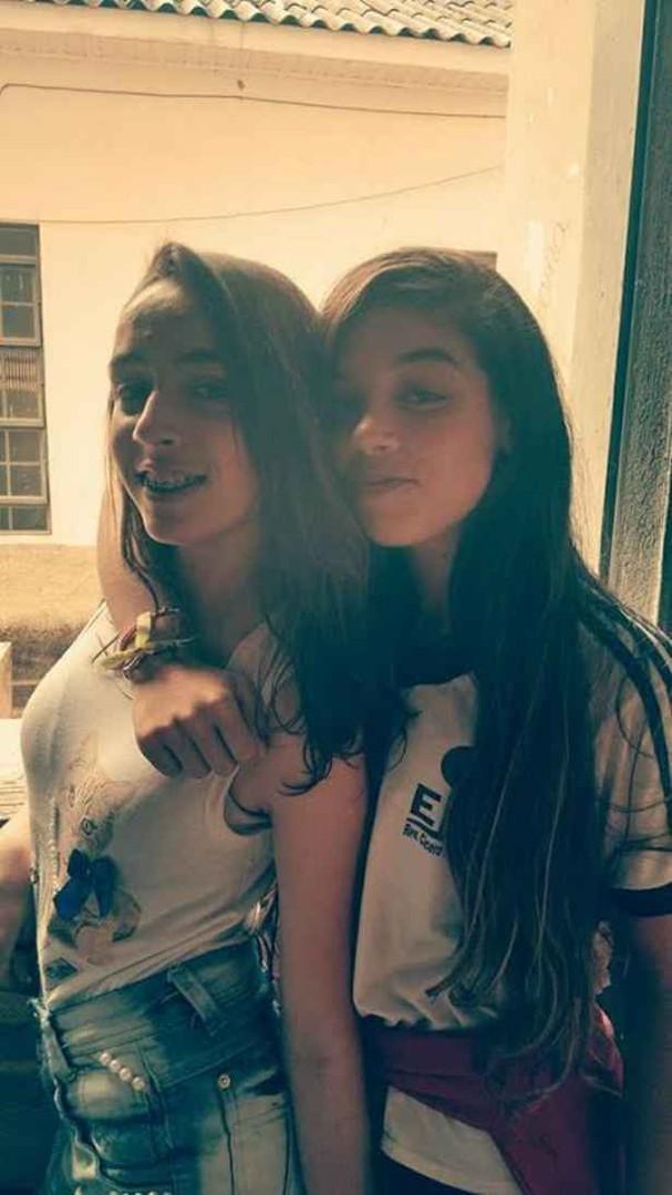 Lara da Silva e a Jéssica